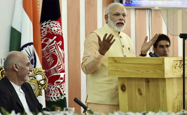 I Am Used To Noise Of Democracy, Says PM Narendra Modi In Afghanistan