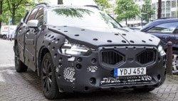 Next Generation Volvo XC60 Spotted Testing with Heavy Camouflage