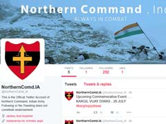 Northern Command Of Indian Army Opens Twitter Account To Interact With People