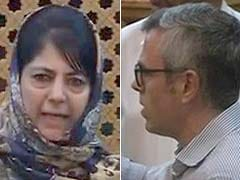 Mehbooba Mufti-Omar Abdullah Spat In Assembly Over Colony For Ex-Servicemen