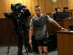 Oscar Pistorius Walks On His Stumps In A Plea For Lenient Sentencing