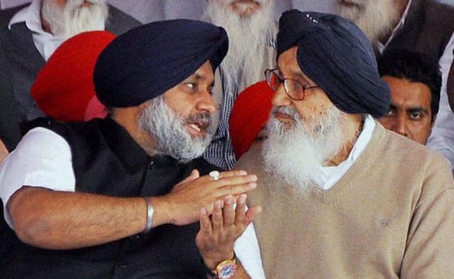 Punjab Elections: Parkash Singh Badal Sukhbir Singh Badal