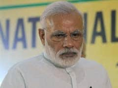 At BJP Meet, PM Modi Chokes With Emotion As He Thanks Leaders