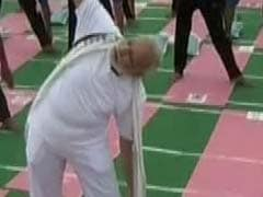 Rains Lash Lucknow Ahead Of PM Narendra Modi's Yoga Event