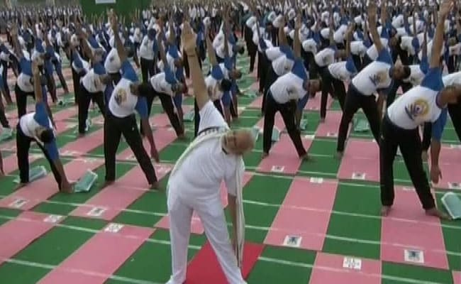 PM Modi, UP Chief Minister Yogi Adityanath To Perform Yoga In Lucknow