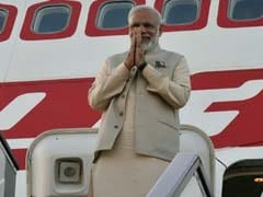 PM Modi Arrives In Chandigarh For Yoga Day