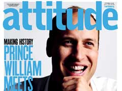 Prince William Appears On The Cover Of UK Gay Magazine