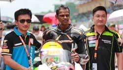 Rajini Krishnan Makes His China SBK Debut and Wins