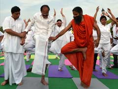 As Ramdev Leads, Over 30,000 Rehearse For International Yoga Day