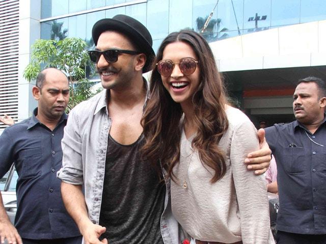 Ranveer Singh to Deepika Padukone: Nothing Makes Me Happier Than You