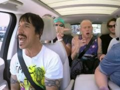 Red Hot Chili Peppers Carpool, Wrestle, Sing With Corden. We Can't Even...