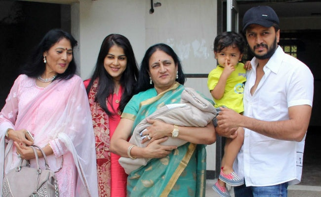 The Deshmukh Family Welcomes Their Second Baby Home