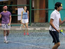 Look Who Saif Ali Khan's Tennis Partner is