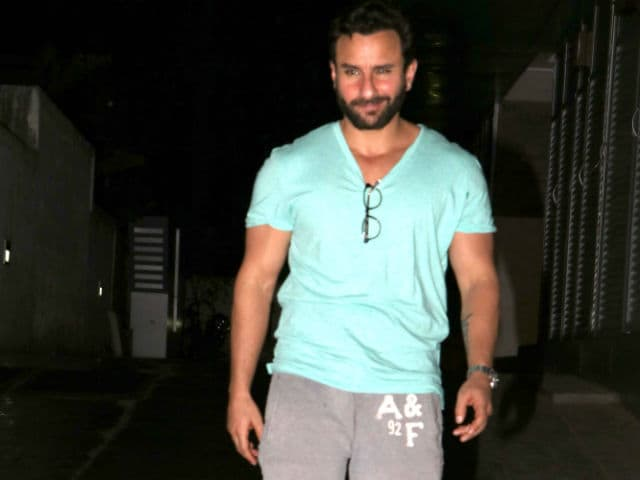 Saif Ali Khan on His New Film With Delhi Belly Writer