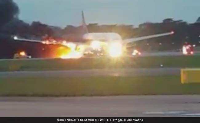 'Just Escaped Death': Passenger Describes Ordeal After Plane Catches Fire