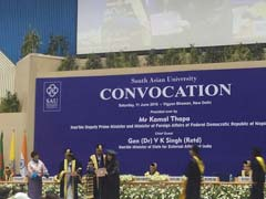 South Asian University Convocation: Union Minister M J Akbar Calls For Faith Equality, Not Supremacy