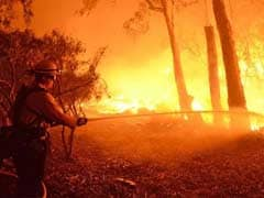 Southern California Wildfire Spreads As Blazes Hit Parched States