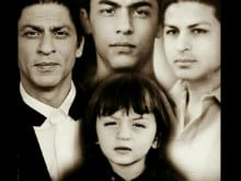 Shah Rukh Shares Pic Starring Three Generations of Khans