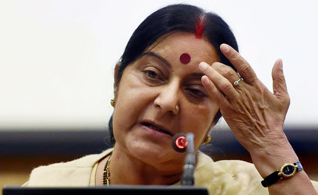 Provide Help To Indian Prisoner Lodged In Pak Jail: Sushma Swaraj To Envoy