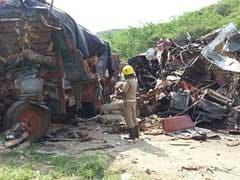 17 Killed In Multiple Collison In Tamil Nadu Krishnagiri