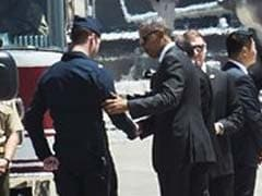Obama Meets Pilot Of Plane That Crashed After Flying Over His Speech