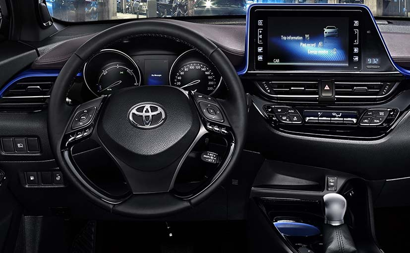 Toyota C-HR Compact Crossover's Cabin Revealed - NDTV CarAndBike