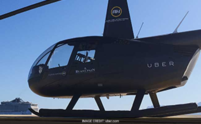At $17 A Seat, You Can Now Fly In A Ubercopter In Brazil