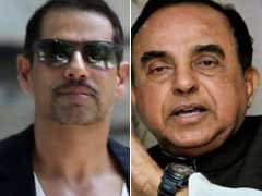 Robert Vadra Calls Subramanian Swamy 'Attention Seeker', 'Classist'
