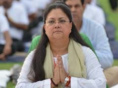 International Yoga Day: Vasundhara Raje Performs Yoga With Thousands In Rajasthan