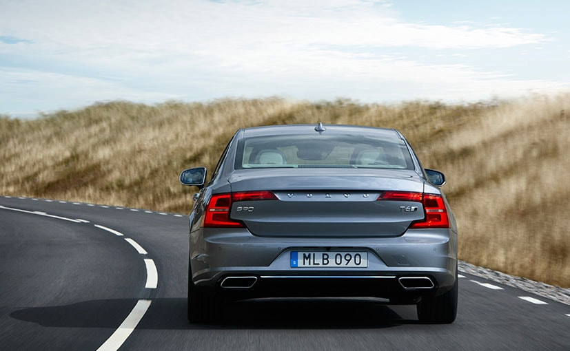 Volvo S90 Rear Profile