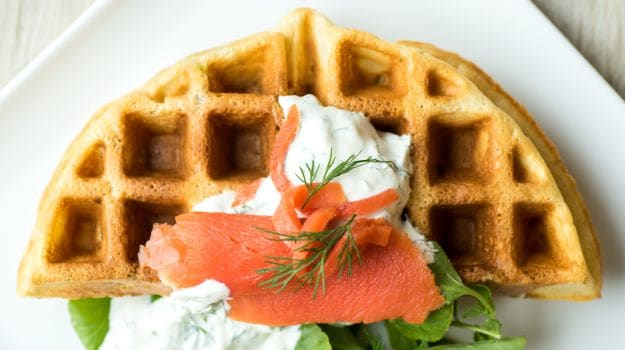 Go Off the Usual Grid With Savory Waffles for Brunch