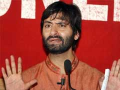 Separatist Yasin Malik Arrested, Shifted To Srinagar Central Jail