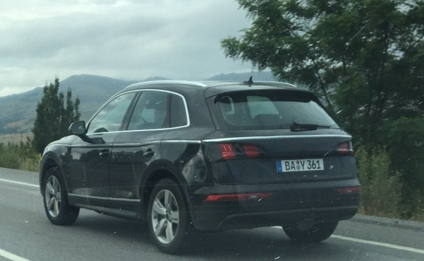 india bound next generation audi q5 spotted almost undisguised   ndtv