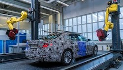 2017 BMW 5-Series Receives Robotic 3D Mapping To Maintain Quality