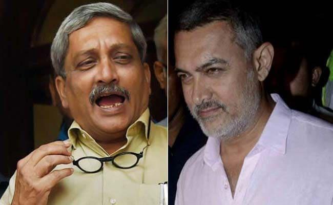 Defence Minister Manohar Parrikar Under Congress Attack After Jibe At Aamir Khan
