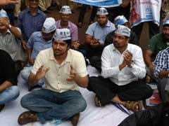 Aam Aadmi Party's Goa Volunteers Hold Sit-In Outside State Secretariat