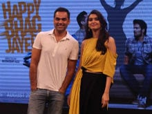 Abhay Deol Talks About Filming Happy Bhag Jayegi With Diana Penty