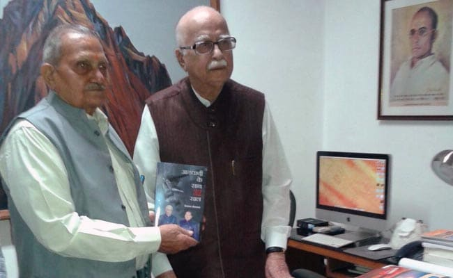 In Curt Letter, LK Advani Rejects Book Written By Aide Just Before Release