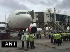Air India Flight, About To Leave For Riyadh, Hits Aerobridge At Mumbai Airport