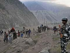 Amarnath Yatra Suspended Due To Heavy Rain, Landslide