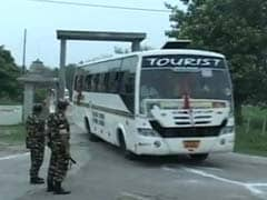 Thousands Set Off On Amarnath Yatra As Forces Keeps Watch