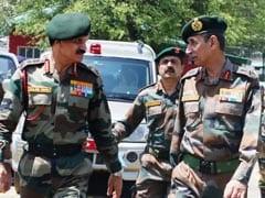 सेना प्रमुख ने कश्मीर के सुरक्षा हालात का जायजा लिया