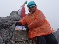 Arunima Sinha Conquers Indonesia's Highest Peak