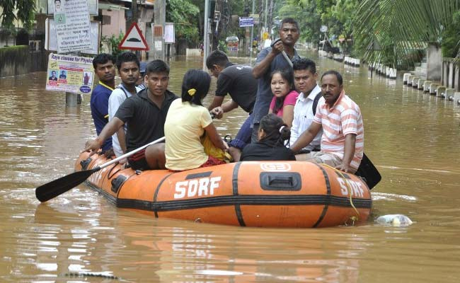 Floods Kill 22 People in India, 170000 Homeless