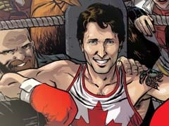 How Canada's Prime Minister Became A Super-Hero