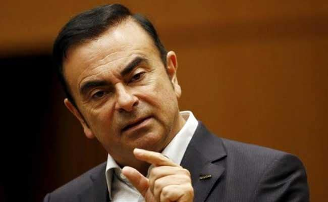 Carlos Ghosn, 62, will continue to be chairman at Nissan.