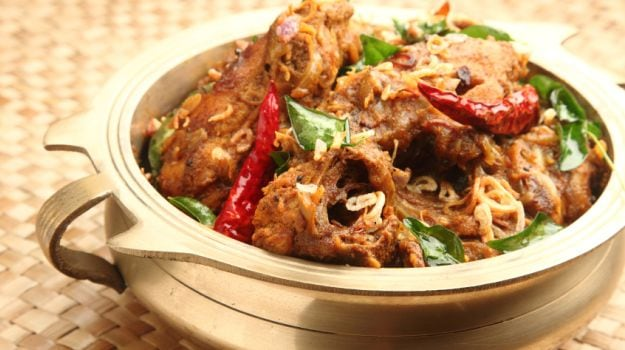 10 Best South Indian Dinner Recipes-Chicken Chettinad