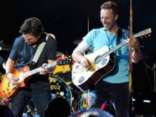 When Chris Martin, Michael J Fox Sang Their Way Back to the Future