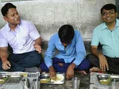 Sitting Cross-Legged, He Ate A Dalit Widow's Lunch, Rescued Her Job