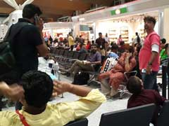 Passengers At Delhi Airport Sweat It Out After AC Fails